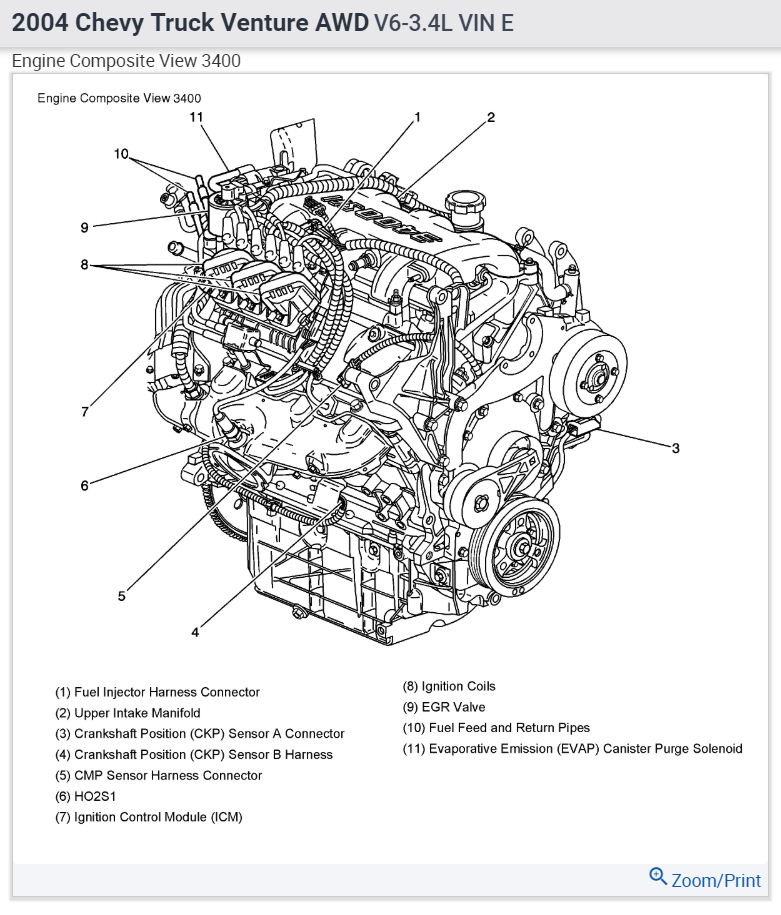 2005 pontiac montana engine diagram data wiring diagram Pontiac 3.4 Engine Diagram
