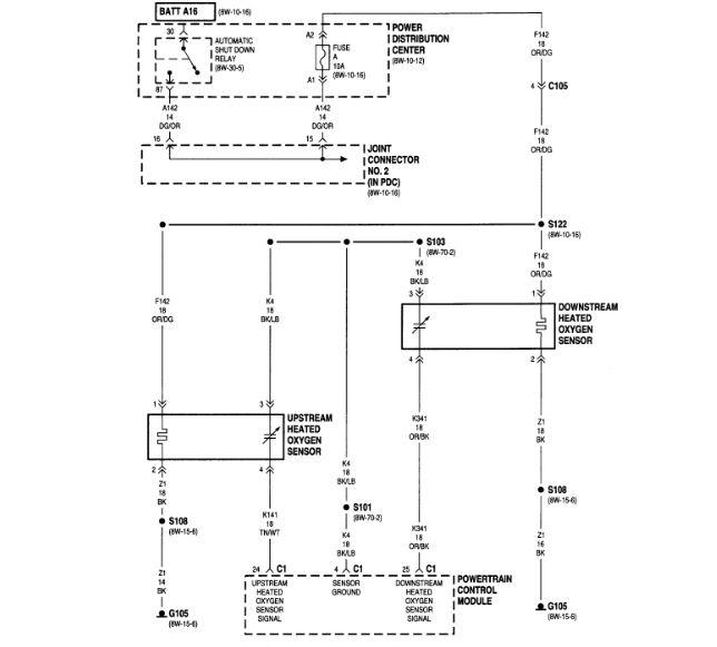 dodge oxygen sensor wiring diagram  wheel horse 520h wiring