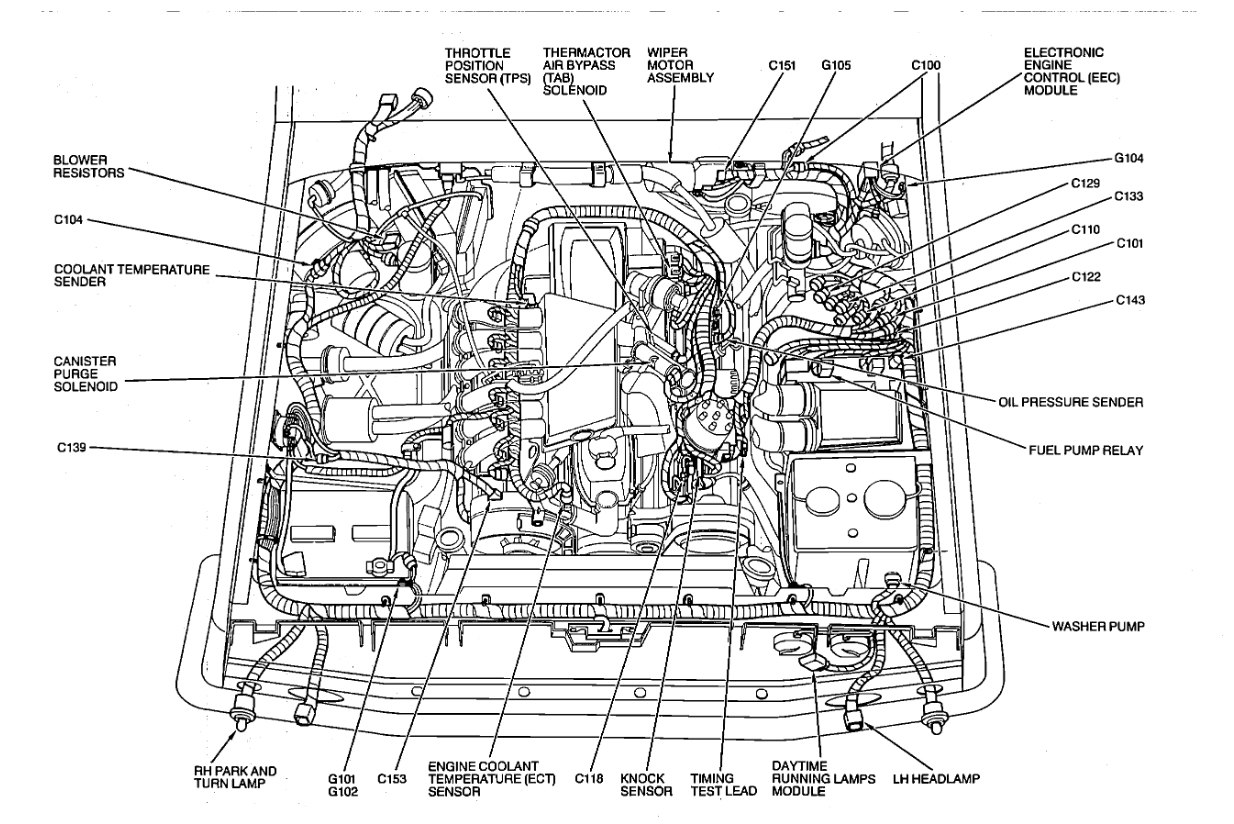 Ford E350 Fuel Diagram