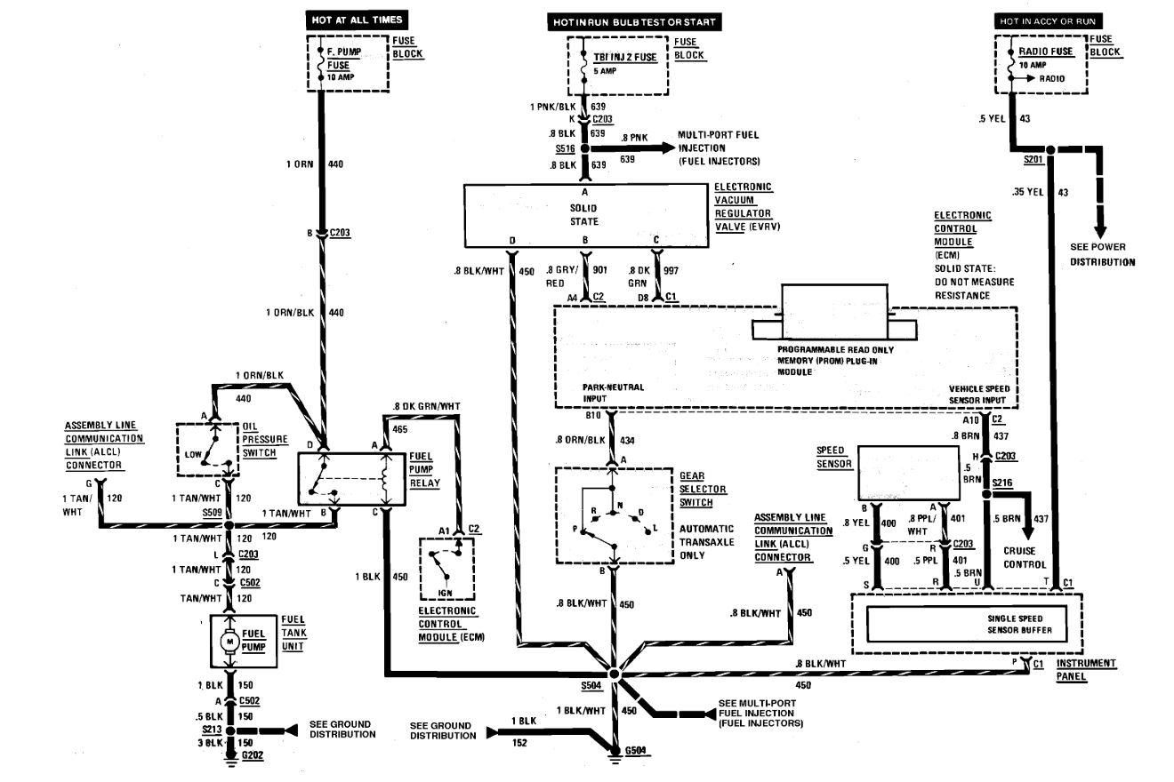 Wiring Diagram 86 Fiero