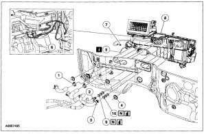 2004 Ford Expedition Heater Core Diagram | Wiring Diagram