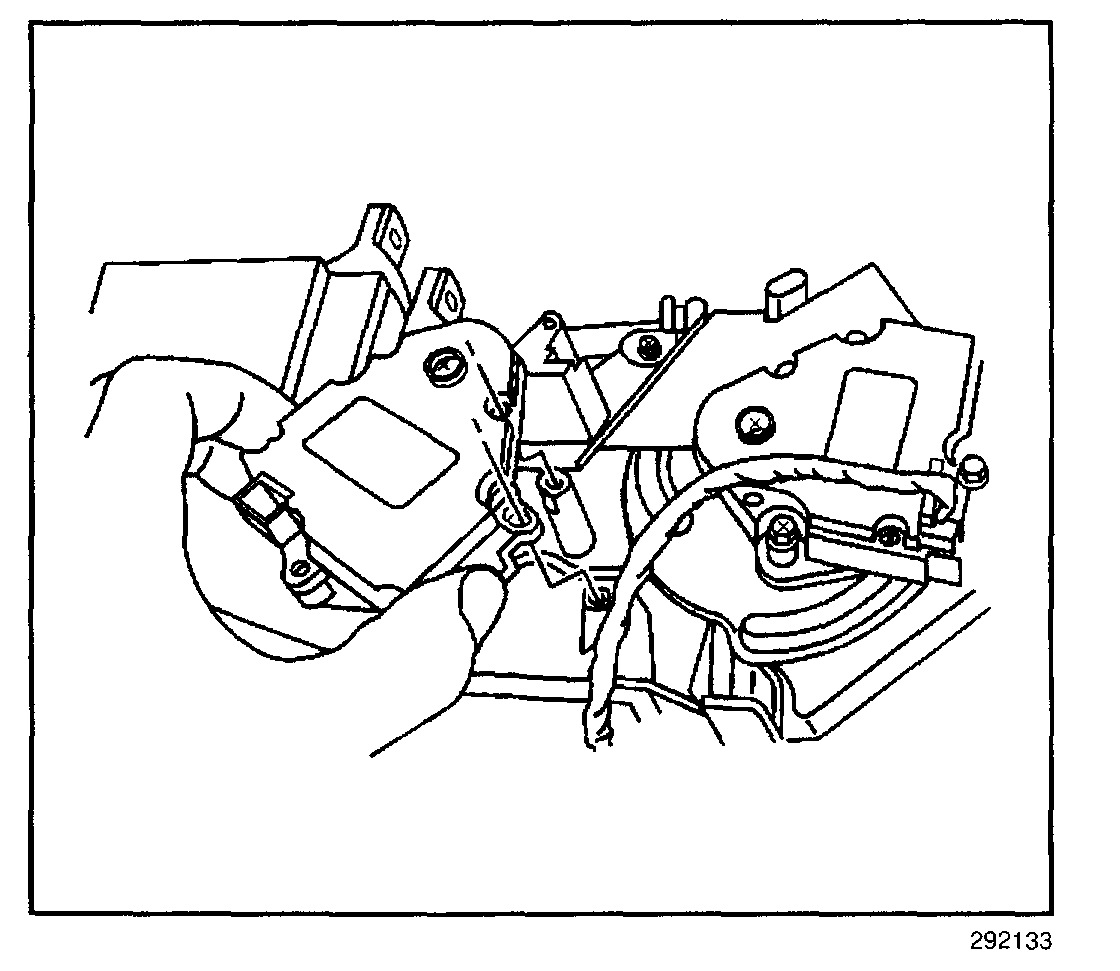 Buick Park Avenue Mode Door Actuator