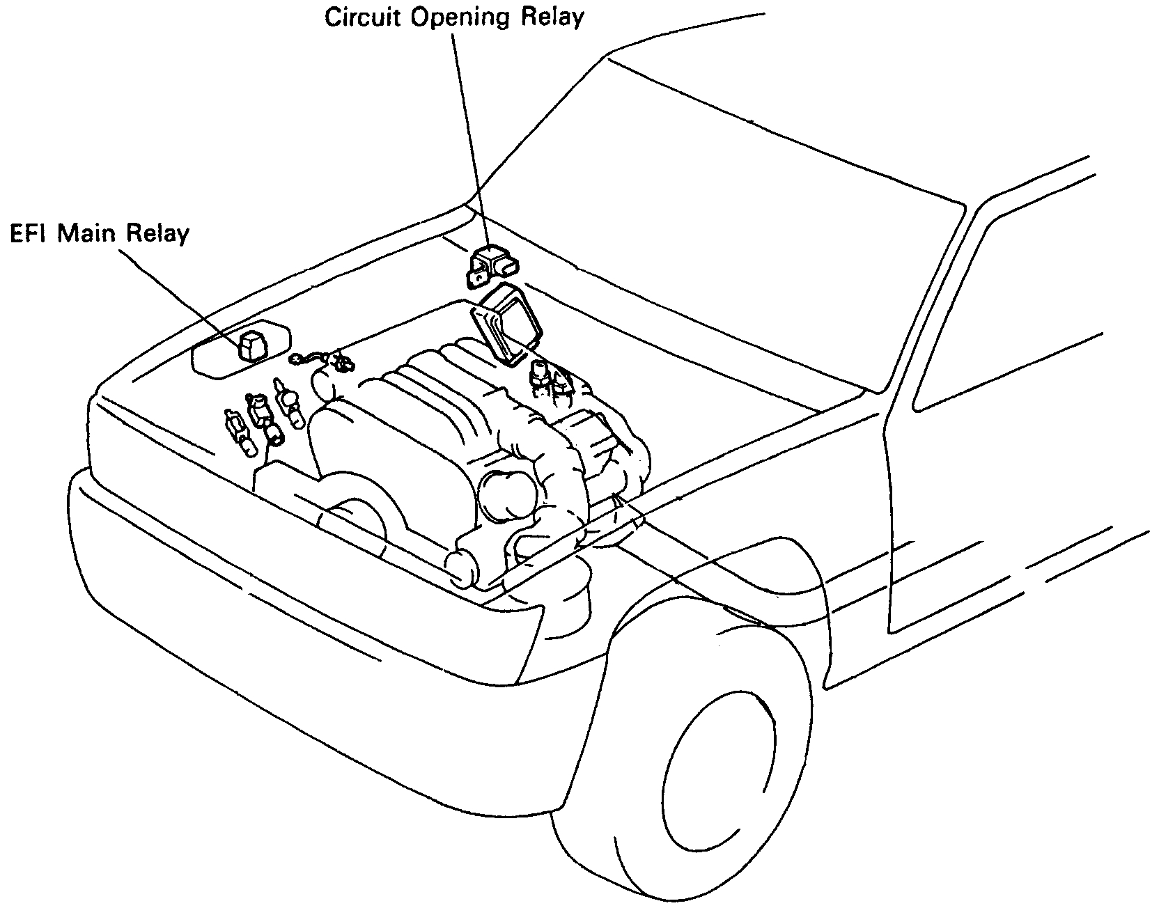Toyota Pickup Fuel Pump Wiring