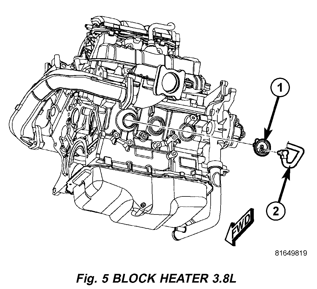 Block Heater Location I M Trying To Locate The Block
