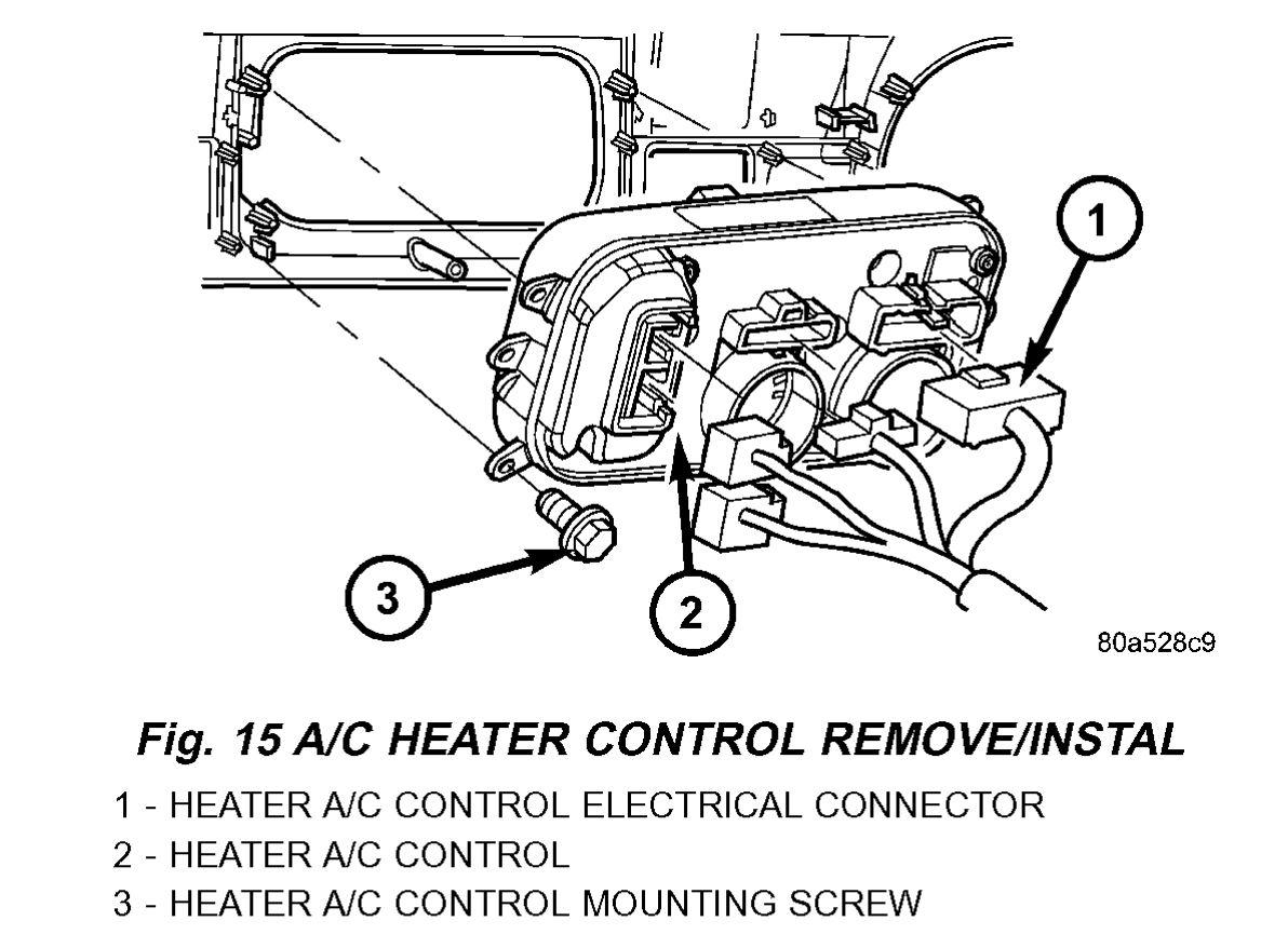 Dodge Durango Blower Motor Resistor Wiring Diagram