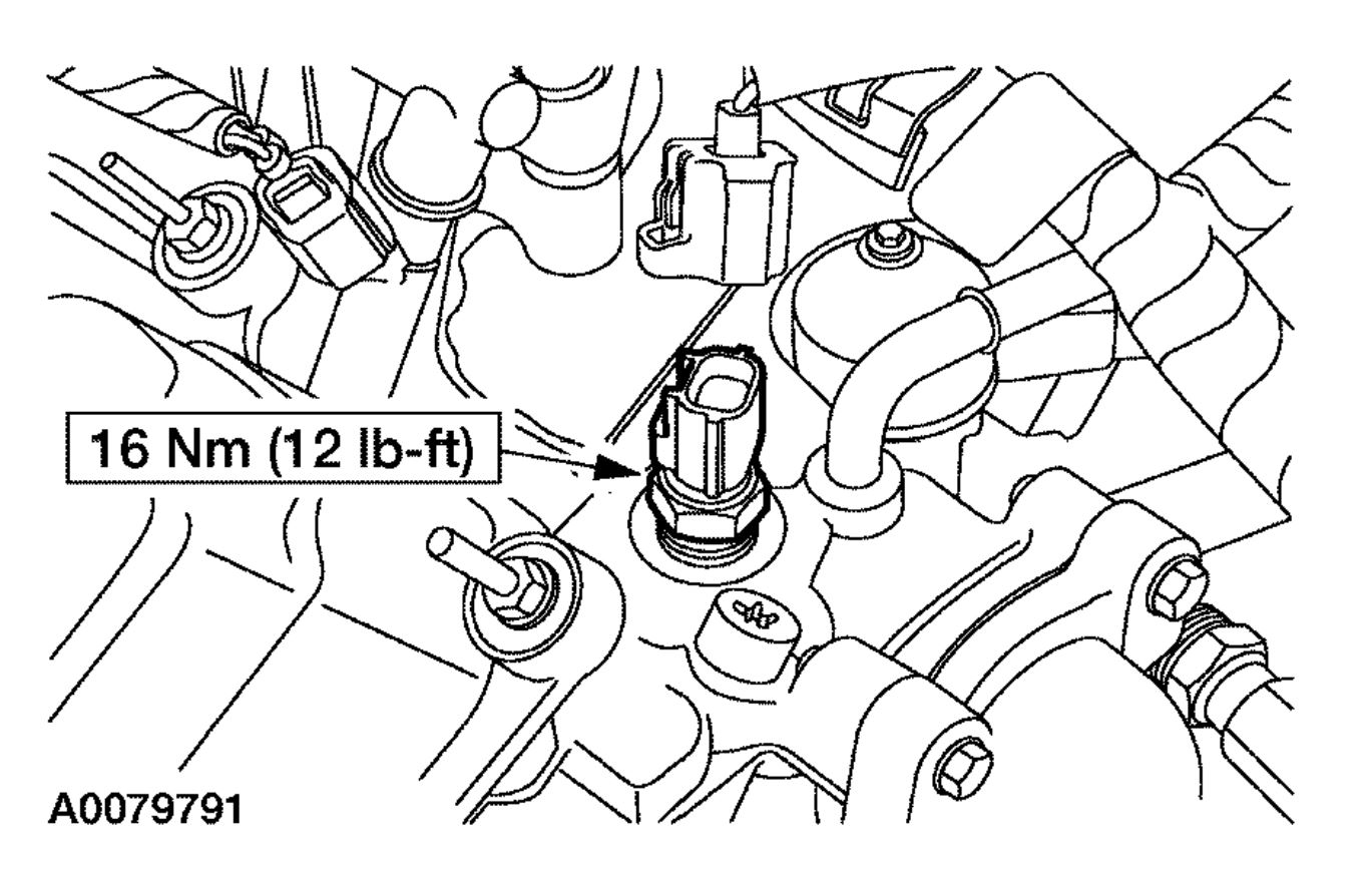 Engine Coolant Sensor Location Please Where Is The