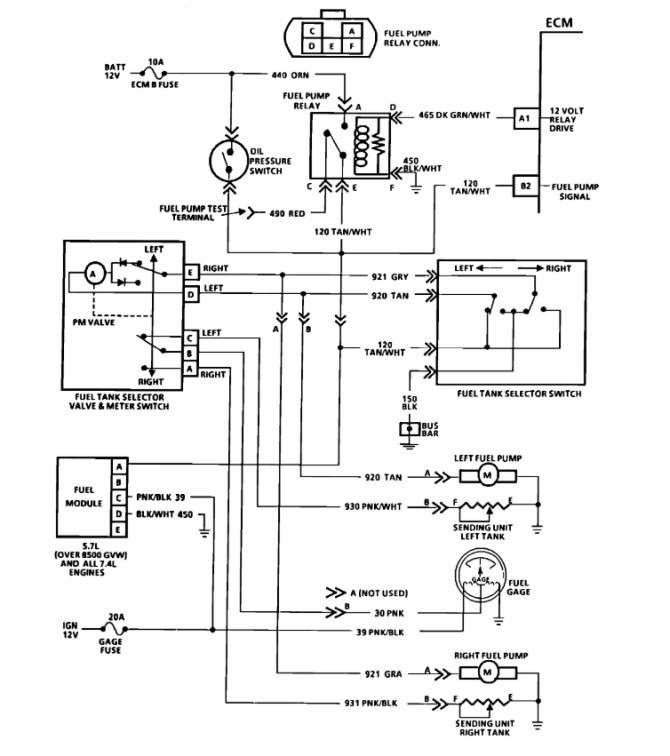 1993 chevy 1500 fuel pump wiring diagram  wiring diagrams