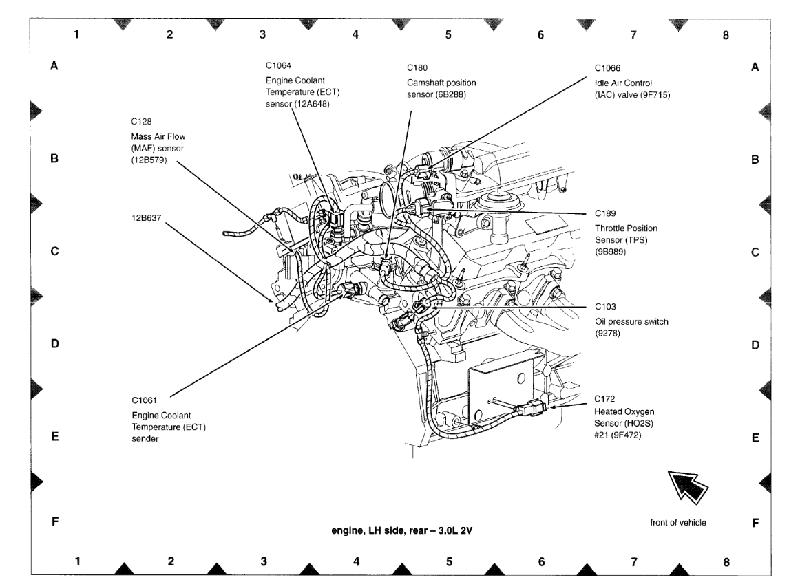 Where Is The Camshaft Sensor Located Where Is The Cam