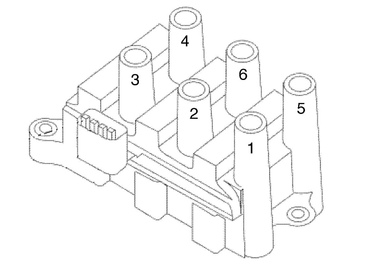 Ford Windstar Spark Plug Wire Diagram