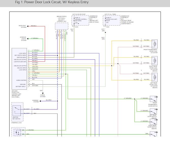 door lock wiring diagram for 1998 honda civic  center