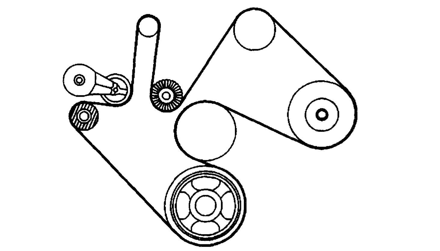 Diagram To Replace Serpentine Belt Replace Serpentine Belt