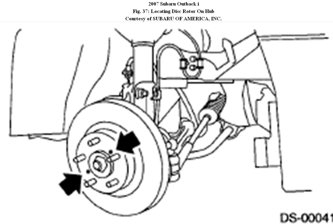 Service Manual How To Remove Subaru Outback Hub