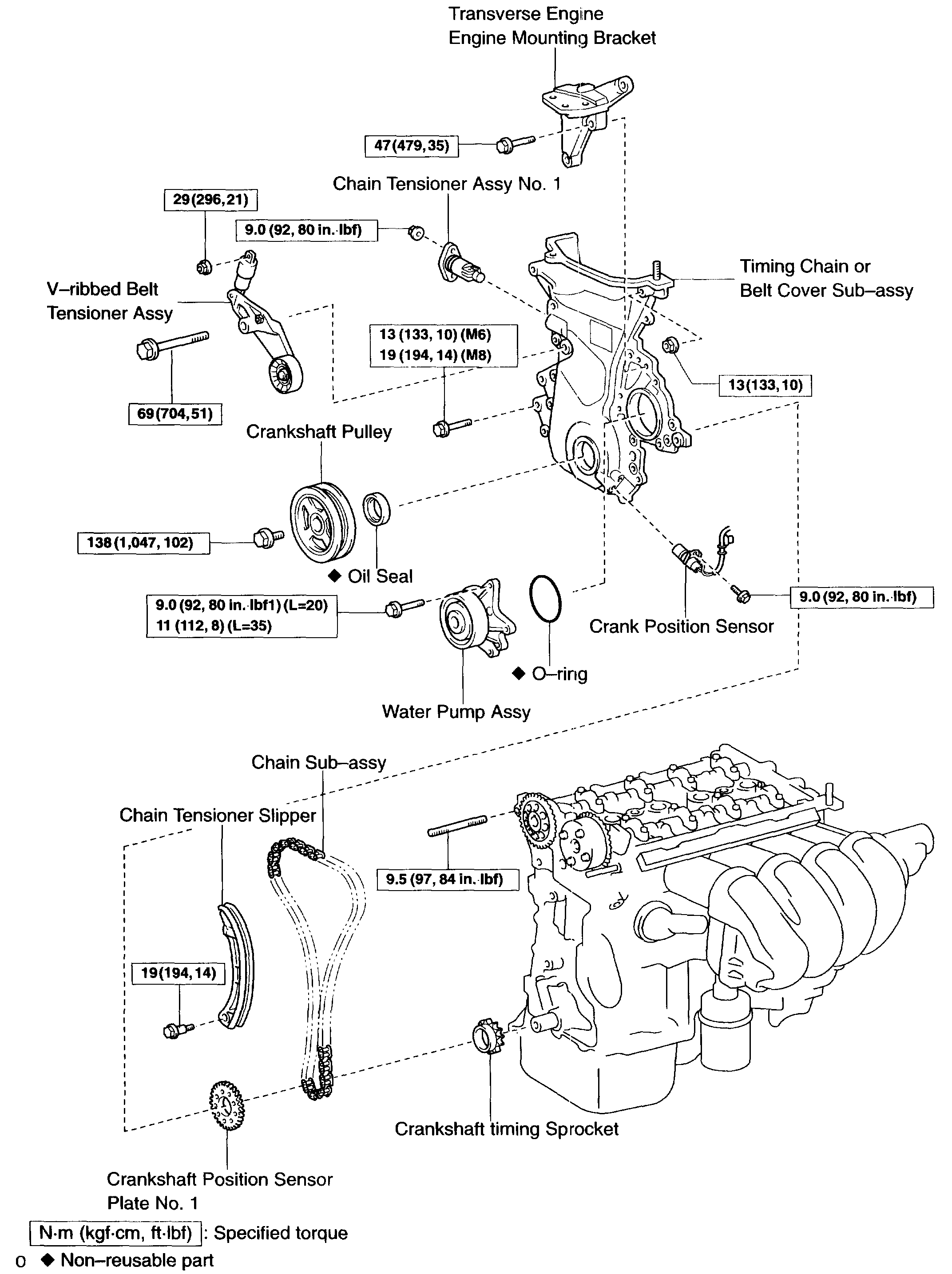 Timing Chain Tensioner Replacement Can You Tell Me How To
