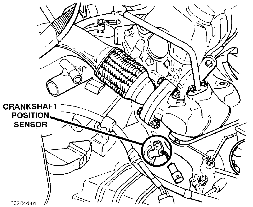 Crankshaft Position Sensor Removal How Do You Remove It