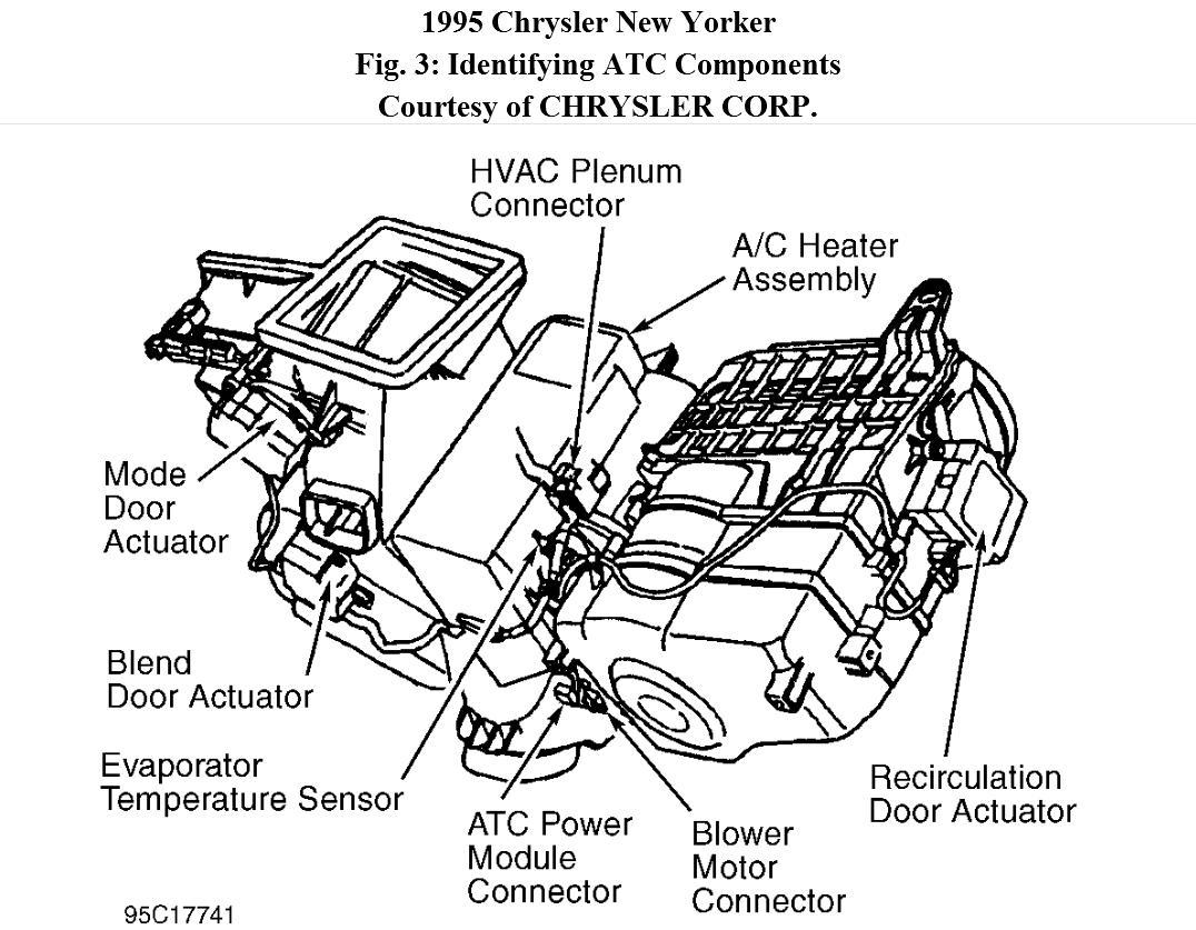 A C Sensor Chrysler New Yorker 3 5 Lit V6 F Eng