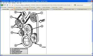 Serpentine Belt Routing Diagram: Need a Serpentine Belt Routing