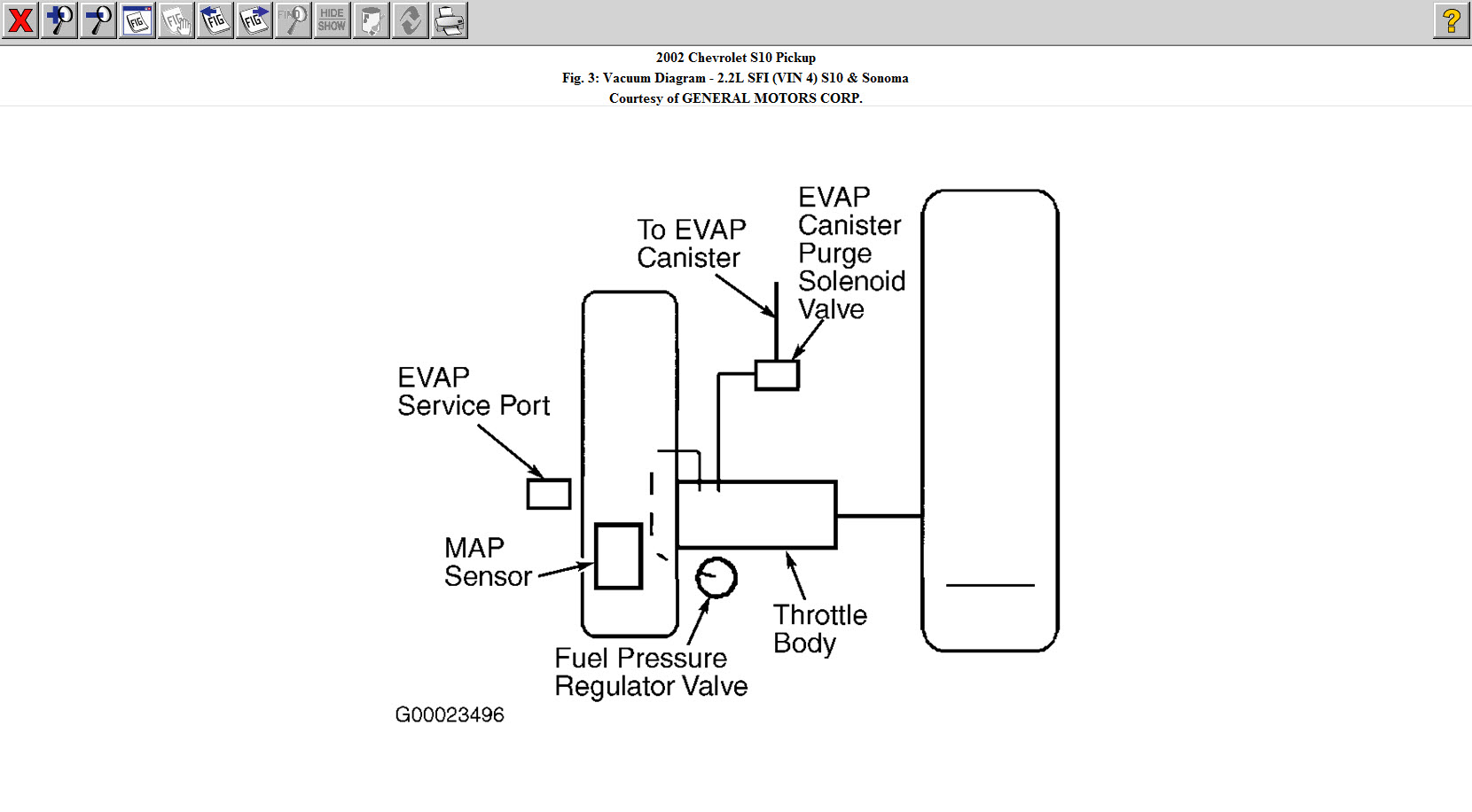 34 Chevy S10 43 Vacuum Diagram