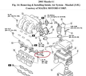 2002 Mazda 6 Engine Diagram Needed: I Would Like to