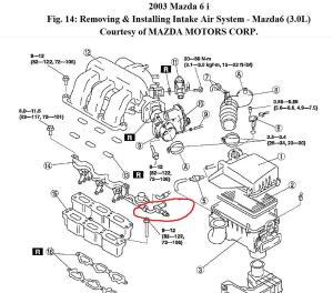 2002 Mazda 6 Engine Diagram Needed: I Would Like to