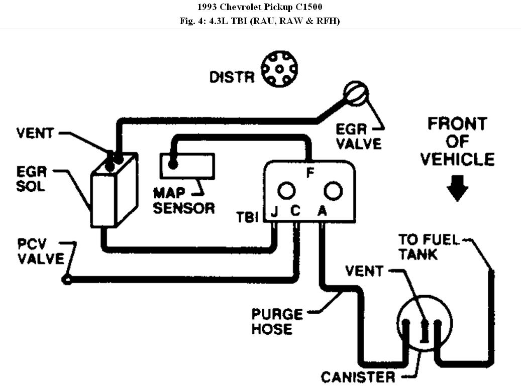 Chevy Vacuum Diagram