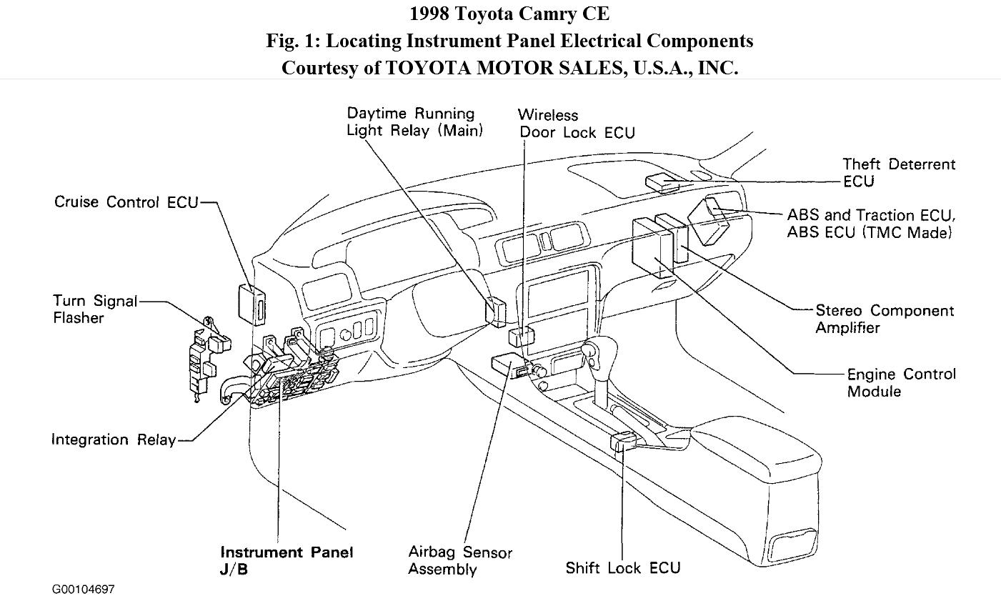 Toyota Camry V6 Engine Diagram