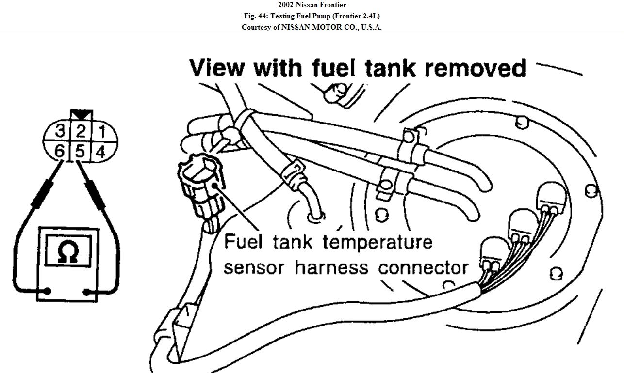 Fueln System Frontier 4x4 3 3 S C Truck Won T Start