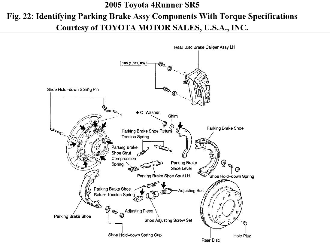Toyota 4runner Parts Manual