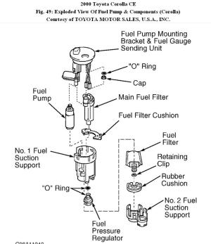 Fuel Filter: Hello All How Do I Connect the Fuel Pump to