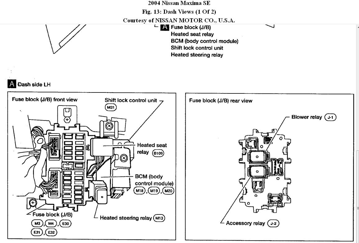 1995 nissan pathfinder headlight wiring diagram