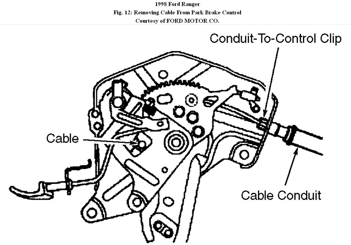 Front Brake Cable Replacement How Do You Disconnect The