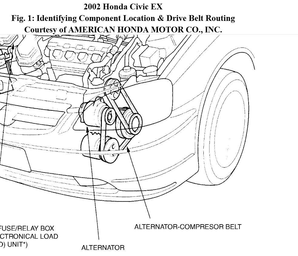 1996 Honda Accord Timing Belt Routing Diagram Further V6 Engine