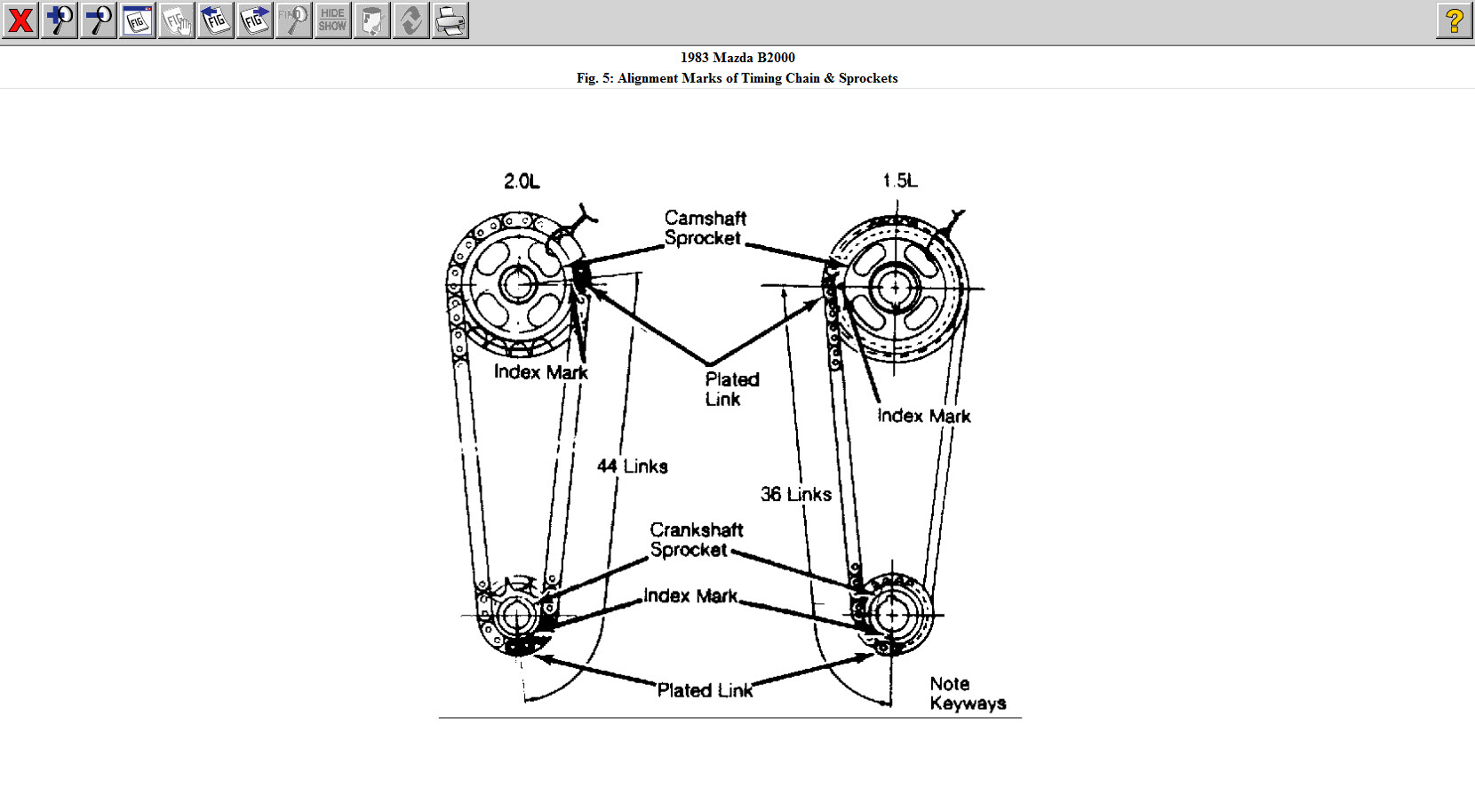 Mazda B Ignition Switch Diagram