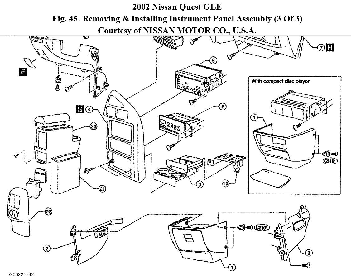 Nissan quest instrument cluster wiring diagram 94 nissan quest stereo wiring diagram at nhrt