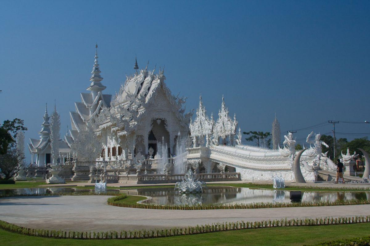 Weisser Tempel Chiang Rai
