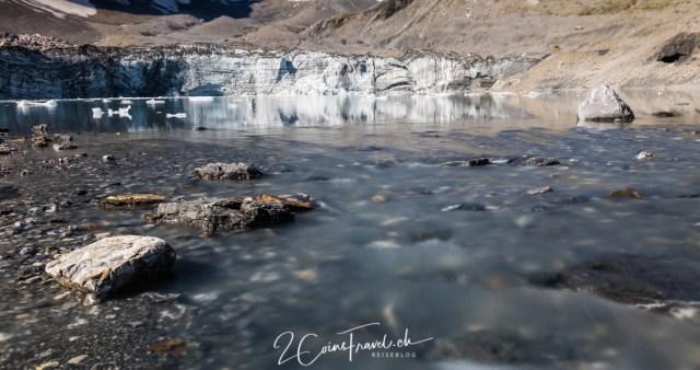 Fätschbach am Gletschersee Klausenpass
