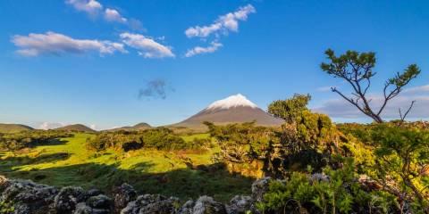 Azoren Insel Pico mit Ponta do Pico