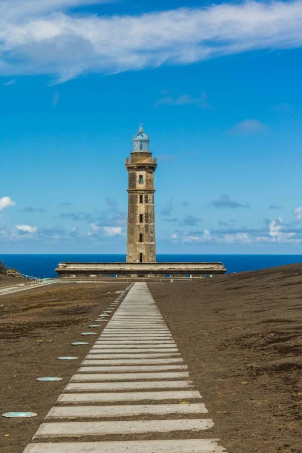 Vulkaninsel Capelinhos auf Faial Azoren