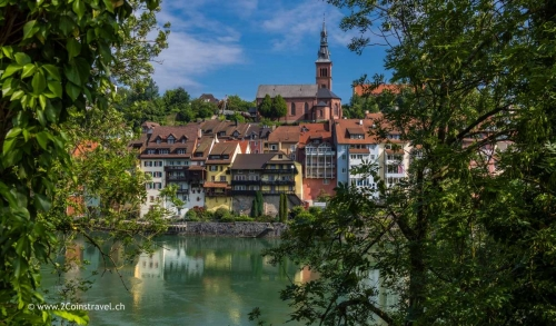 Blick auf Laufenburg Deutschland