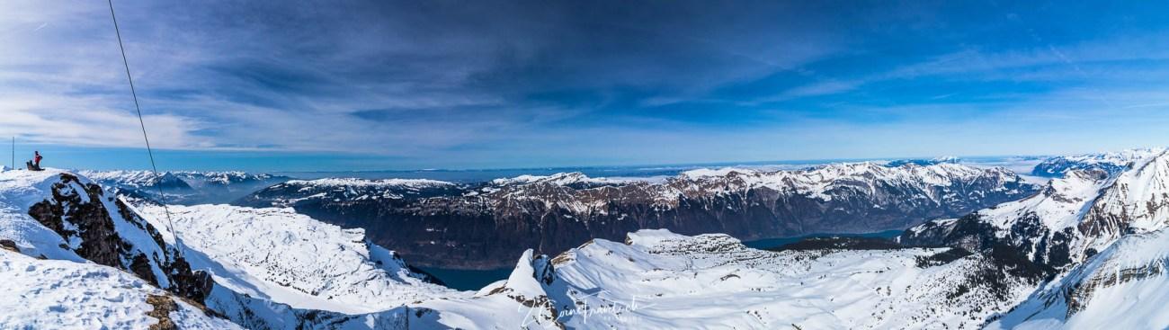 Faulhorn Gipfelpanorama Grindelwald