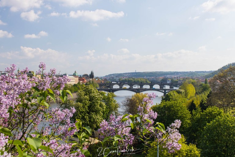 Panoramablick auf Prag
