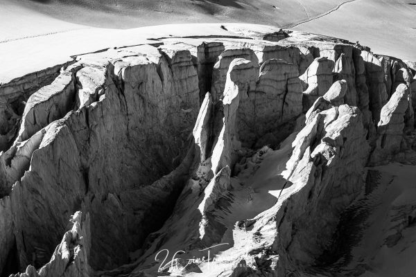 Gletscherfeld