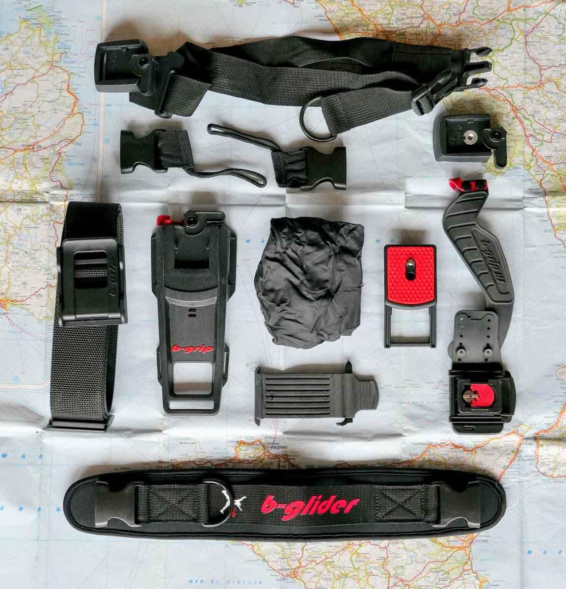 Accessori per il trasporto del materiale fotografico