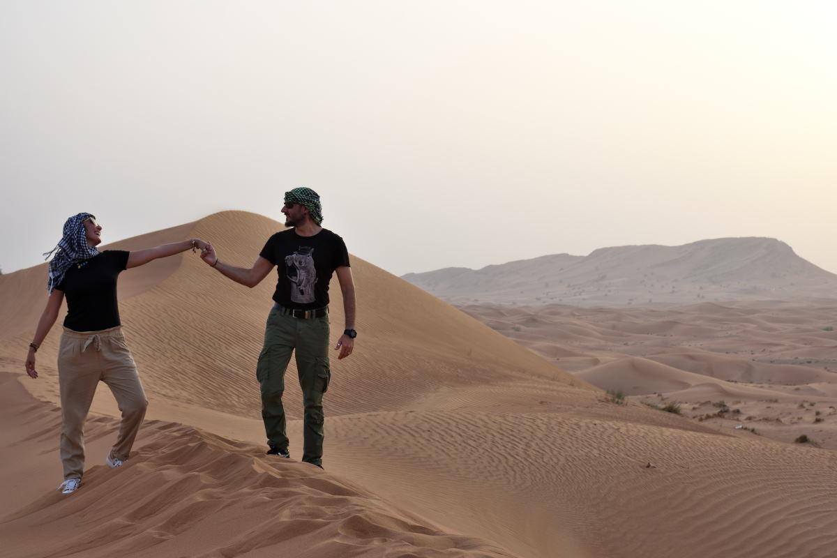 Safari nel deserto di Dubai : La magia delle dune