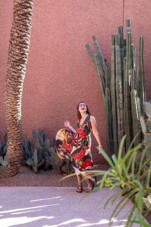 Jardin Majorelle Claudia cactus