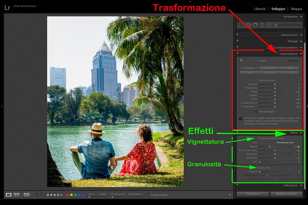 Post Produzione Foto con Lightroom Trasformazione ed Effetti 2 Cuori in Viaggio