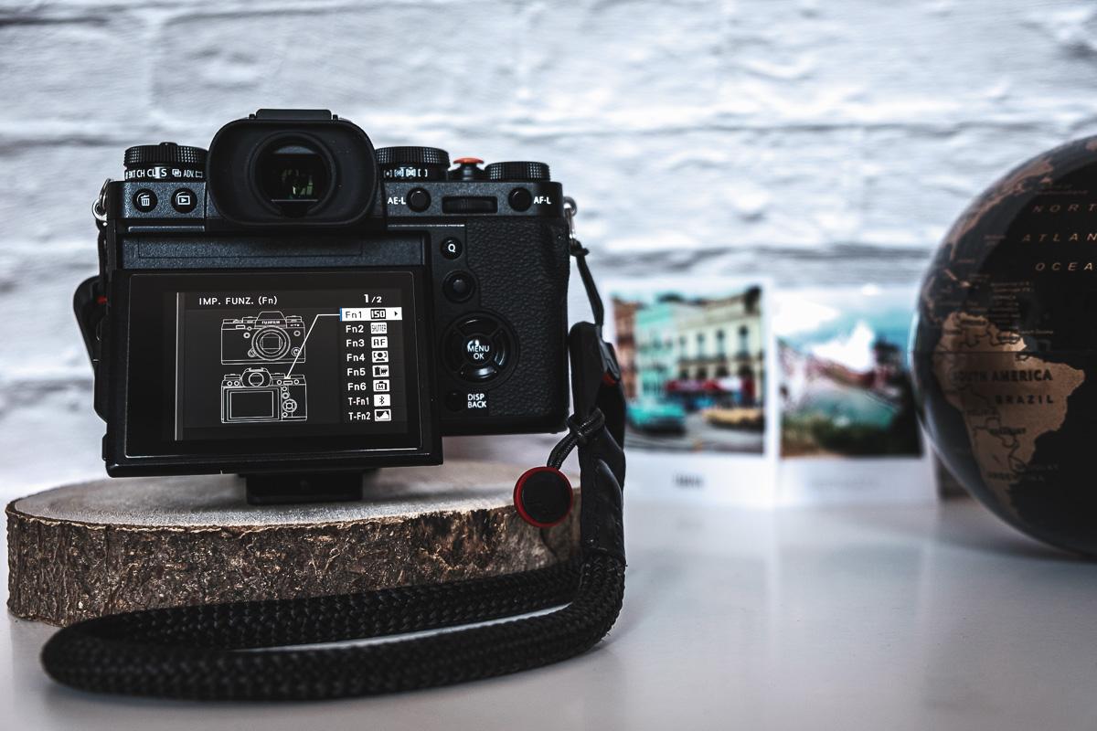 Fujifilm XT3 Tasti funzione