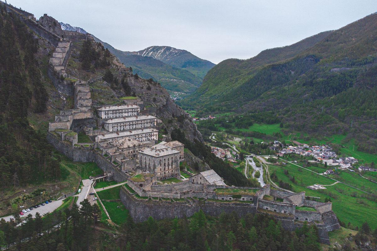 Forte di Fenestrelle: la grande muraglia piemontese