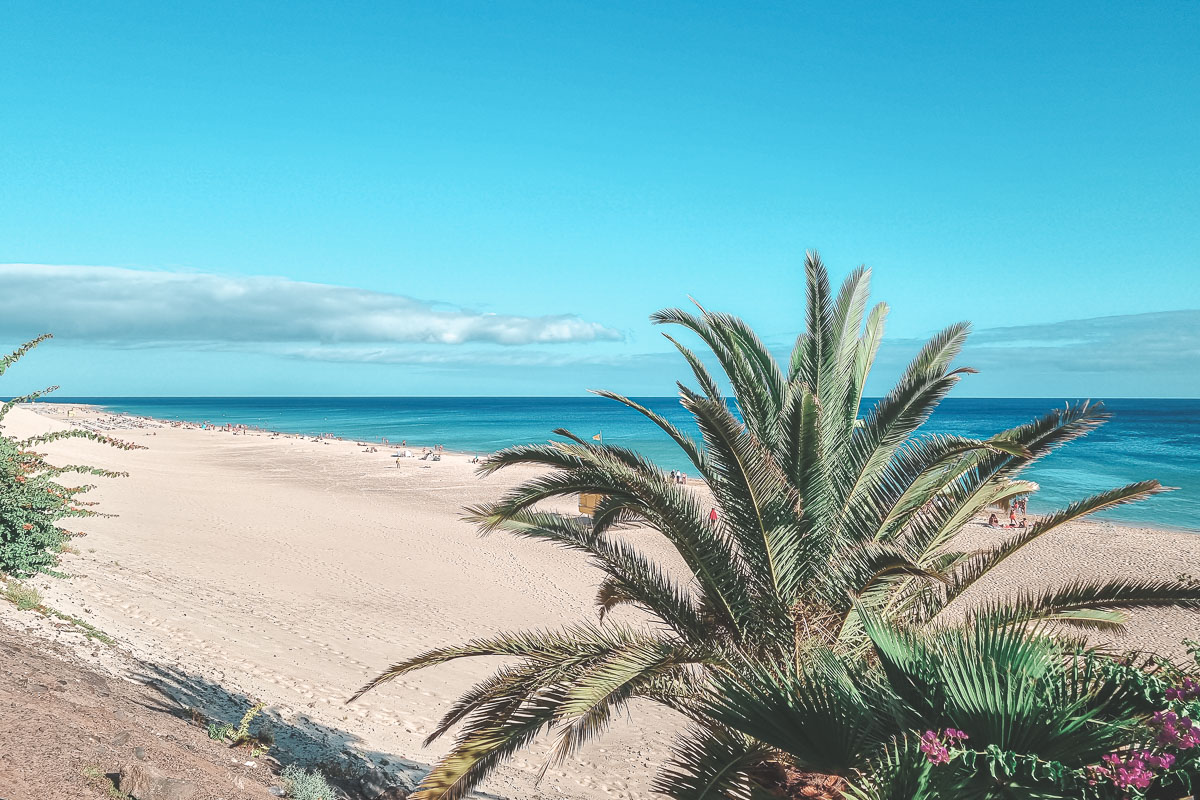Spiagge a Fuerteventura morro Jable