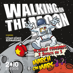 Portada Walking on the moon