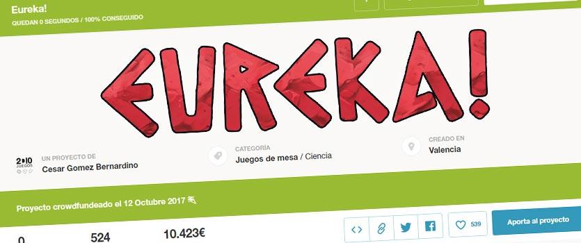 Eureka fundado en verkami